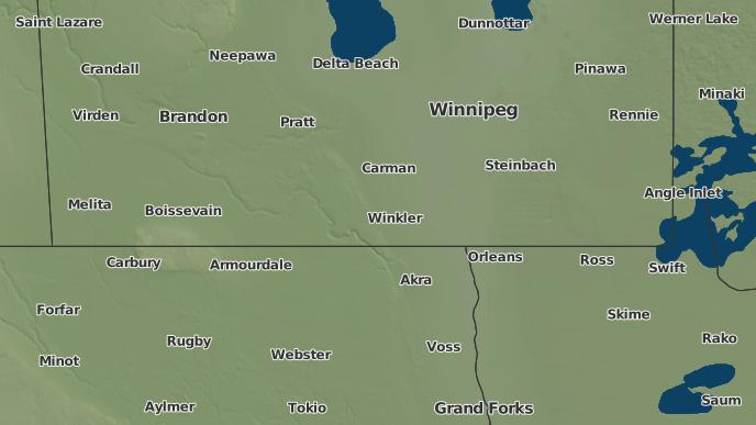 3Day Severe Weather Outlook Miami Manitoba  The Weather Network