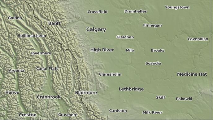 for Cayley, Alberta
