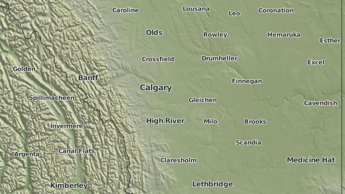 for Wheatland County No. 16, Alberta