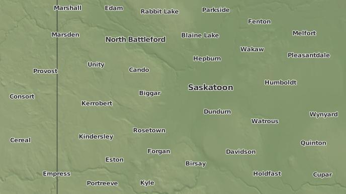 pour Vanscoy, Saskatchewan