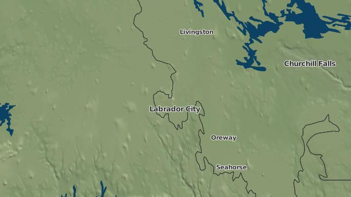 pour Labrador City, Terre-Neuve-et-Labrador