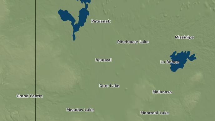 for Canoe Lake I.R. 165B, Saskatchewan