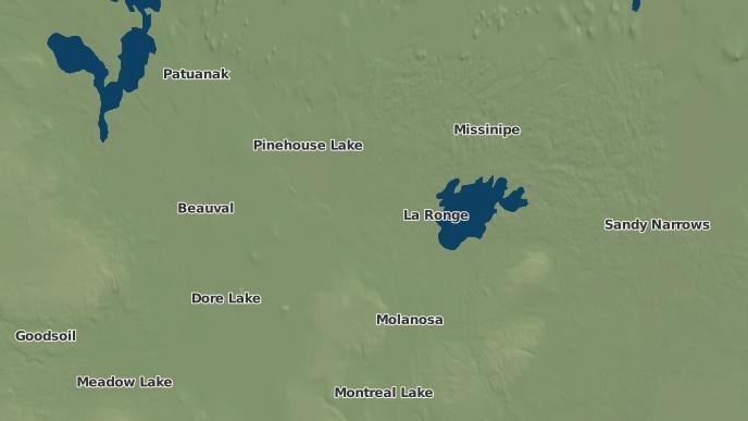 pour Air Ronge, Saskatchewan