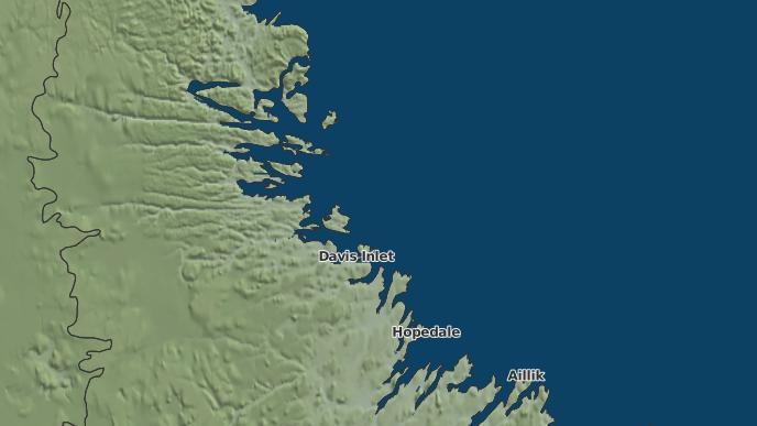 for Natuashish Indian Reserve No. 2, Newfoundland and Labrador