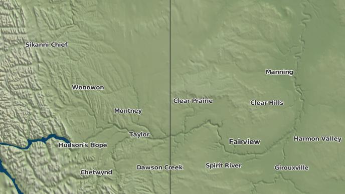 for Clear Prairie, Alberta
