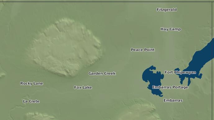 for Garden Creek, Alberta
