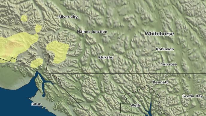 pour Nesketahin, Yukon