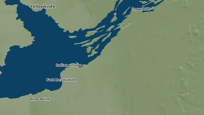 for Rocher River, Northwest Territories