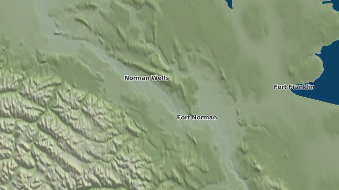 for Tulita, Northwest Territories