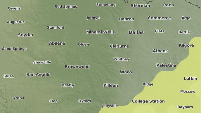 Dale Texas Map on