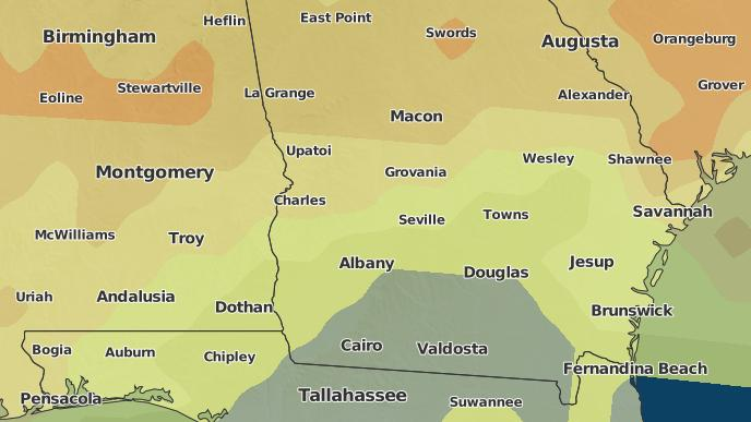 3 Day Severe Weather Outlook Americus Georgia The