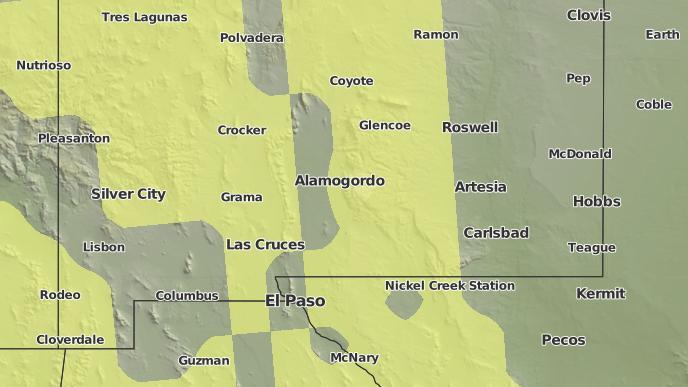 for Alamogordo, New Mexico