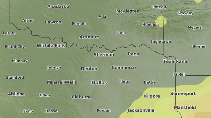 pour Allen Point, Texas