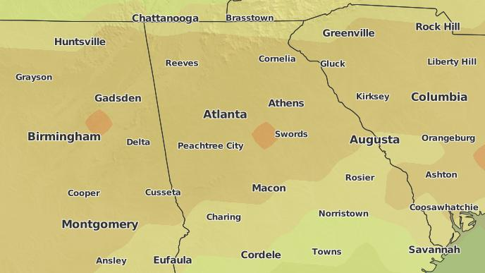 3-Day Severe Weather Outlook: Austell, Georgia - The Weather ... on georgia map ringgold ga, georgia map buford ga, georgia map bremen ga, georgia map dublin ga, georgia map valdosta ga, georgia map rome ga, georgia map jonesboro ga, georgia map lagrange ga, georgia map atlanta ga, georgia county map of ga, georgia map acworth ga, georgia map canton ga, georgia map madison ga, georgia map dahlonega ga, georgia map hiram ga, georgia map washington ga, georgia map lithonia ga, georgia map roswell ga, georgia map athens ga, georgia map andersonville ga,