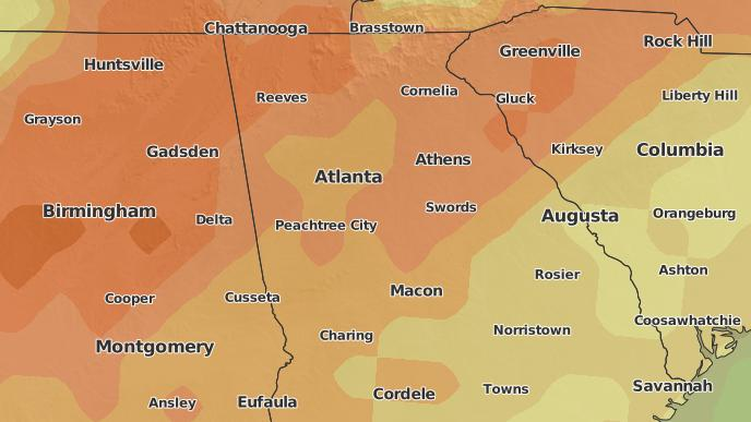 for Atlanta, Georgia