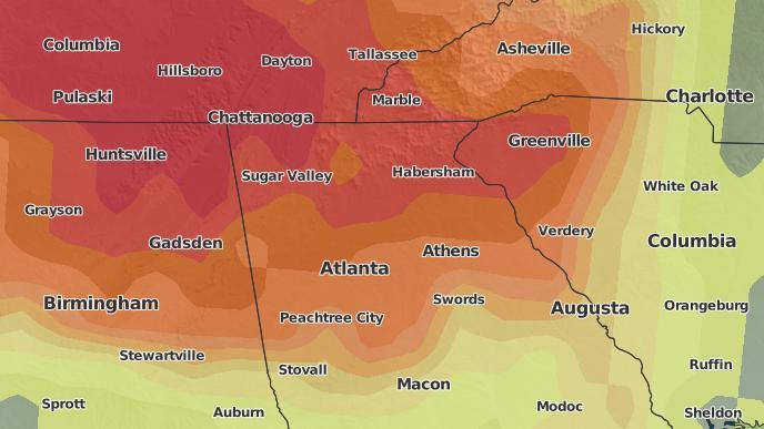 for Pendergrass, Georgia