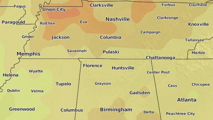3-Day Severe Weather Outlook: Anderson, Alabama - The