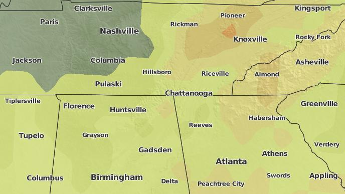 3-Day Severe Weather Outlook: Chattanooga, Tennessee - The