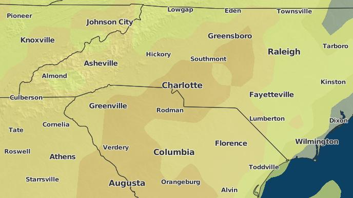 3-Day Severe Weather Outlook: Charlotte, North Carolina - The