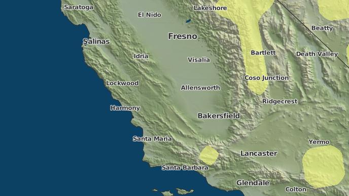 3-Day Severe Weather Outlook: Atascadero, California - The