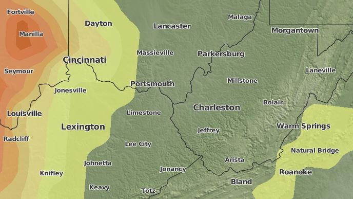 for Huntington, West Virginia
