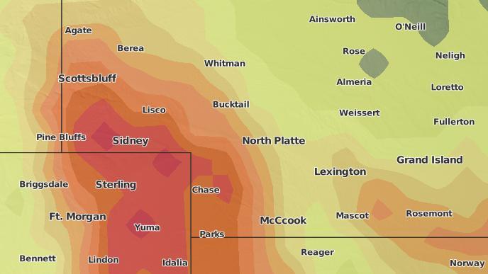 3-Day Severe Weather Outlook: North Platte, Nebraska - The