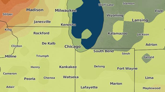 3 Day Severe Weather Outlook Riverside Illinois The Weather Network