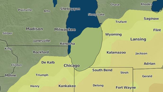 3-Day Severe Weather Outlook: Kenosha, Wisconsin - The Weather Network