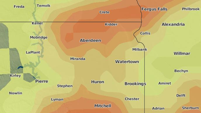 3-Day Severe Weather Outlook: Naples, South Dakota - The ... on adrian ga map, adrian mi map, adrian mn map,
