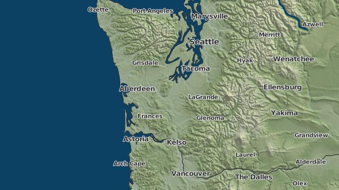 Graham Wa Weather >> 3 Day Severe Weather Outlook Graham Washington The Weather Network