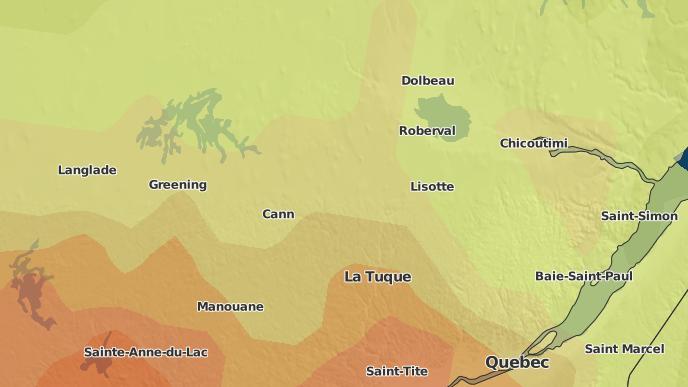 for Coucoucache, Quebec