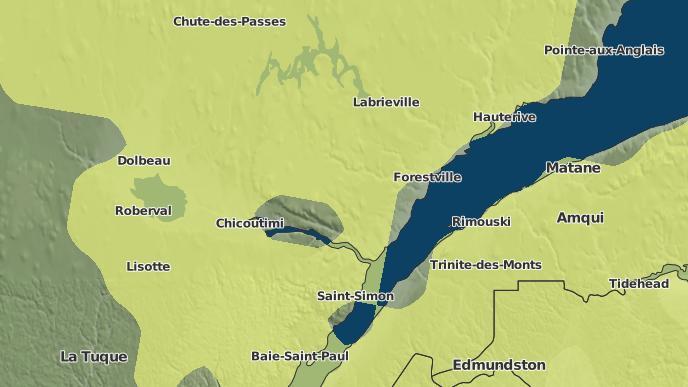 for Innue Essipit, Quebec