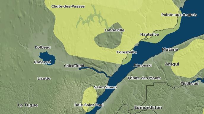 for Longue-Rive, Quebec