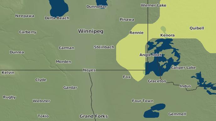 pour Wampum, Manitoba