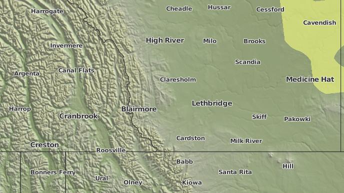 for Coalhurst, Alberta
