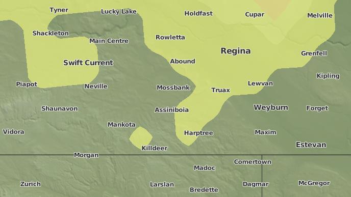 pour Wheatstone, Saskatchewan