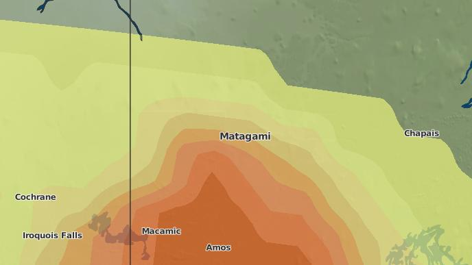 for Matagami, Quebec