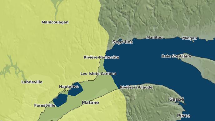for Pointe-aux-Anglais, Quebec