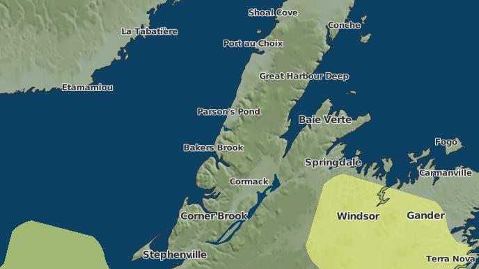 for Hampden, Newfoundland and Labrador