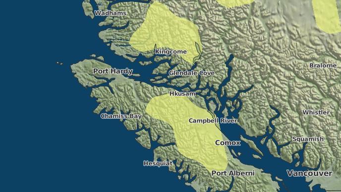 pour Salmon River 1 (Comox), Colombie-Britannique