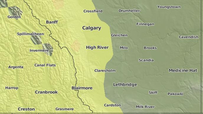 for Nanton, Alberta