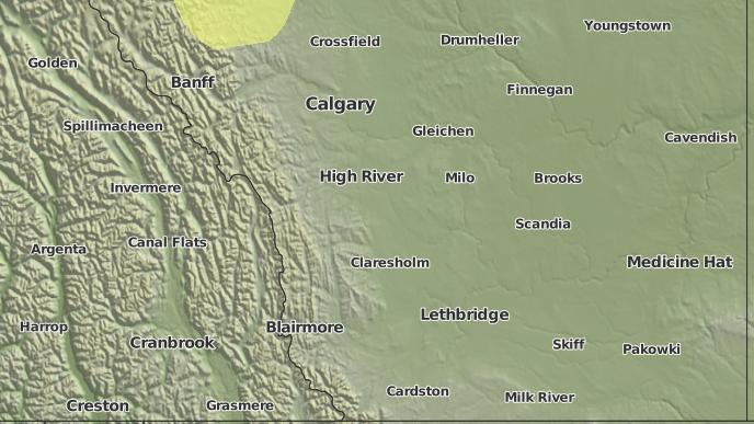 pour Connemara, Alberta