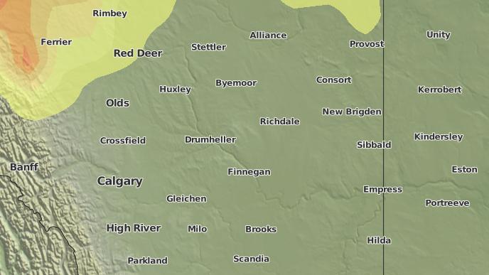 for Rosedale, Alberta