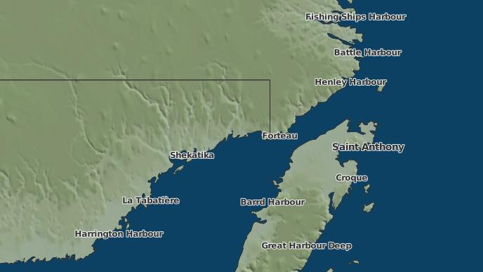 pour Lourdes-de-Blanc-Sablon, Québec
