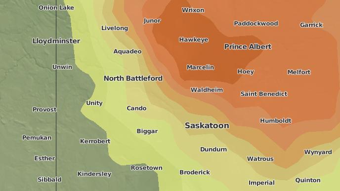 for Cando, Saskatchewan