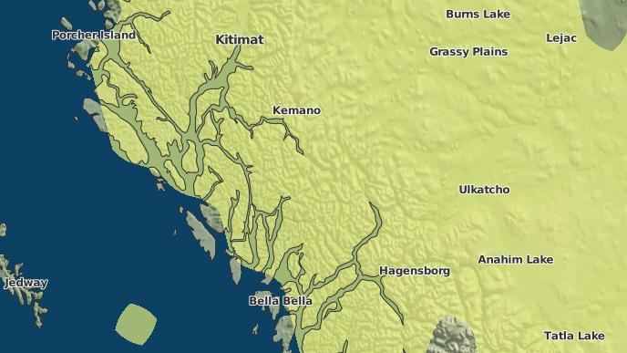 for Chatscah 2, British Columbia