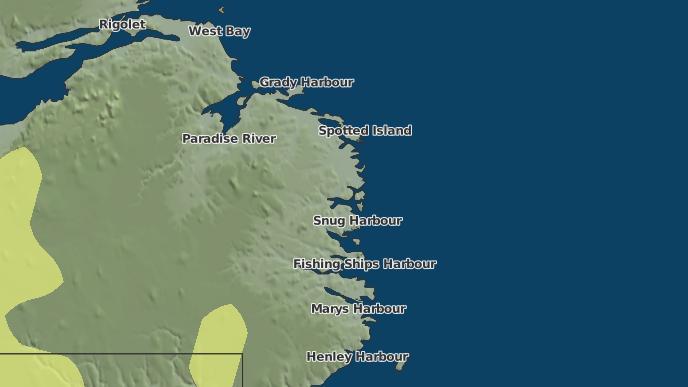 for Triangle, Newfoundland and Labrador