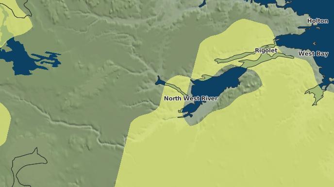 for Happy Valley-Goose Bay, Newfoundland and Labrador