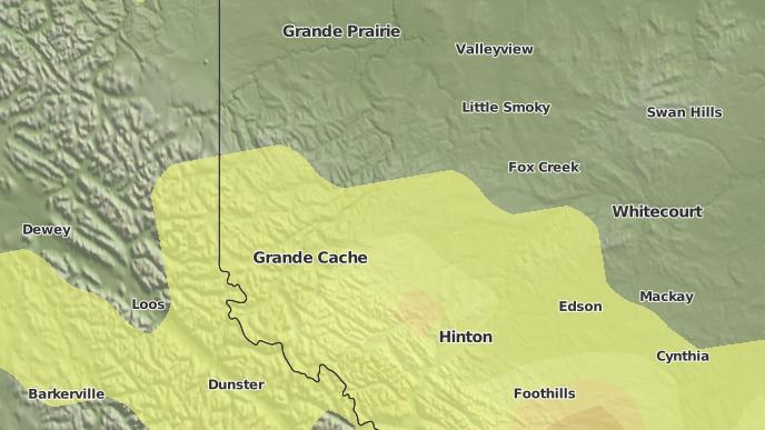 for Grande Cache, Alberta