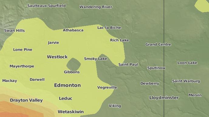 pour Foisy, Alberta